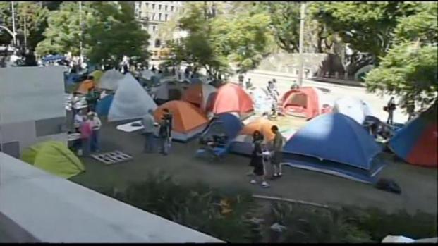 [LA] Occupy LA Protest Grows