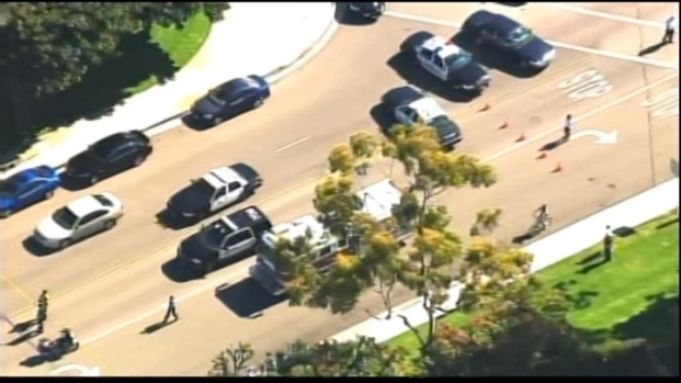[LA] Aerial Video: Police Respond to Seal Beach Shooting