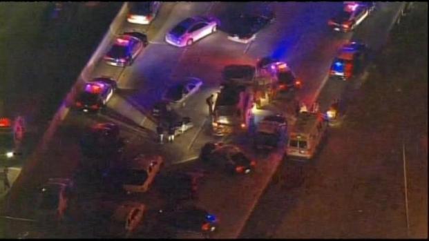 [LA] 91 Freeway in Corona Shut Down After Gunfire
