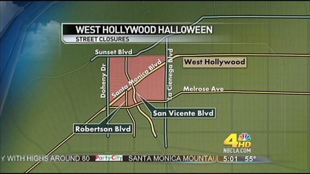 [LA] WeHo Prepares for Halloween Carnaval
