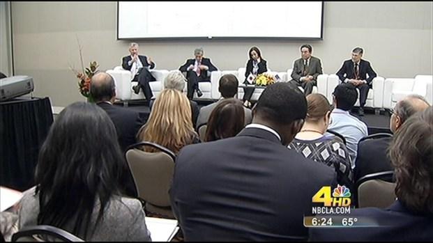[LA] Conan Nolan Moderates Panel At Japan Rising Conference