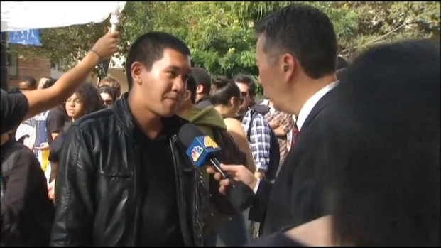 [LA] Student Protest UC Regents Meeting