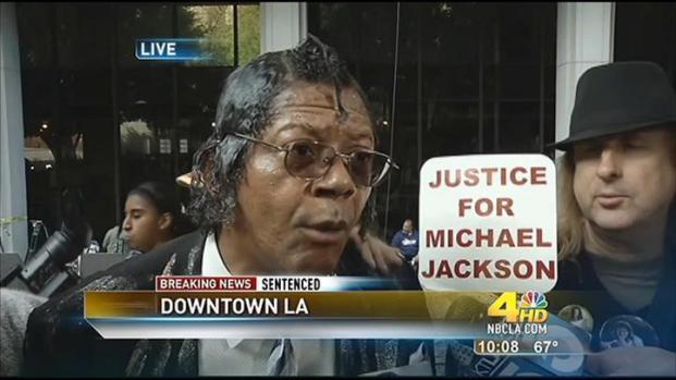 [LA] Jackson Fans, Murray Supporter React to Sentence