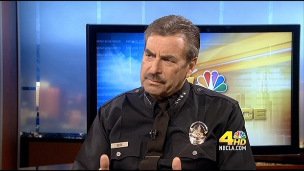[LA] News Conference: LAPD Chief Charlie Beck, Part 1