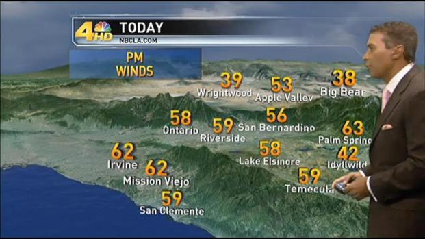 [LA] Weather Forecast: Thursday, December 15, 2011