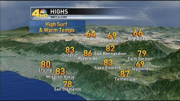 [LA] Weather Forecast: Thursday, January 5, 2012