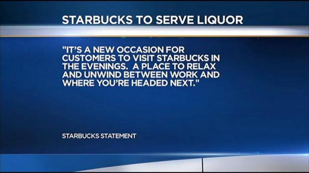 [LA] Starbucks to Serve Alcohol in Southern California