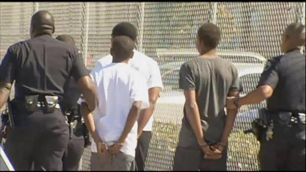 [LA] Riot at Carson High