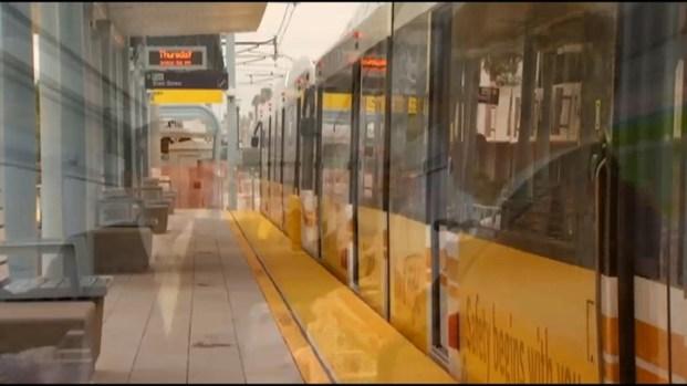 [LA] Mayor Antonio Villaraigosa Talks LA Fire and New Rail Line