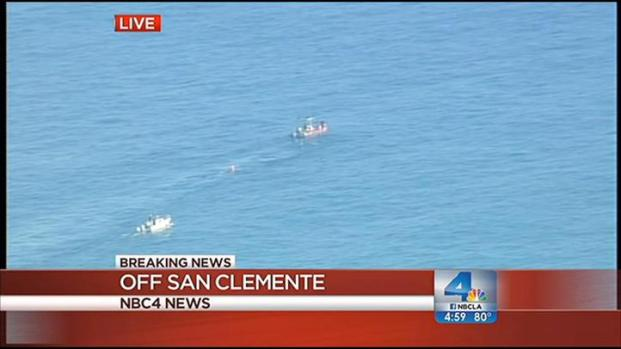 Whale rescue resumes off oc coast nbc southern california for Fishing in orange county