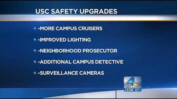 [LA] Recent Violence Prompts Beefed Up Security at USC