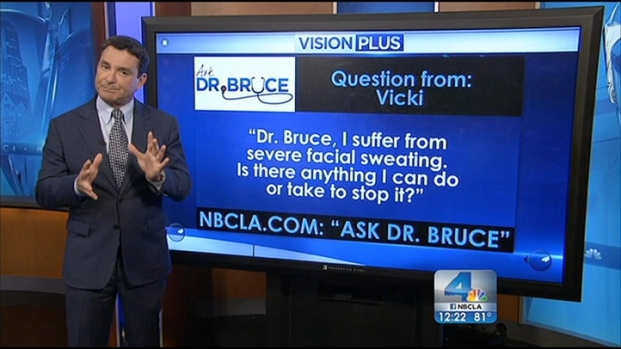 [LA] Ask Dr. Bruce: Mad Cow, Sweating and Warts