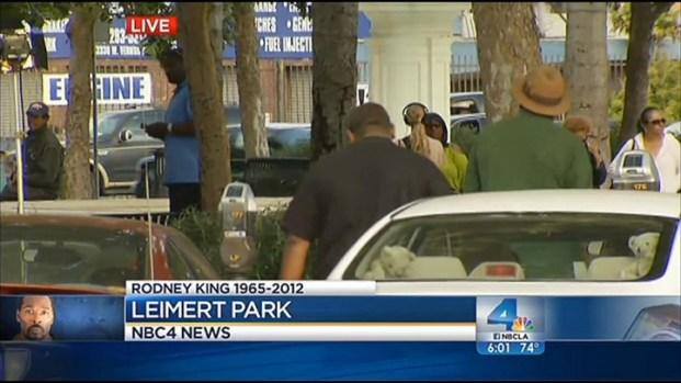 [LA] Rodney King Remembered in Leimert Park