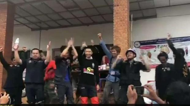 [LA] All 12 Soccer Players and Coach Rescued from Thai Cave