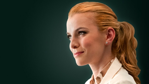 "[AP] Betty Gilpin Checks in with ""Nurse Jackie"""