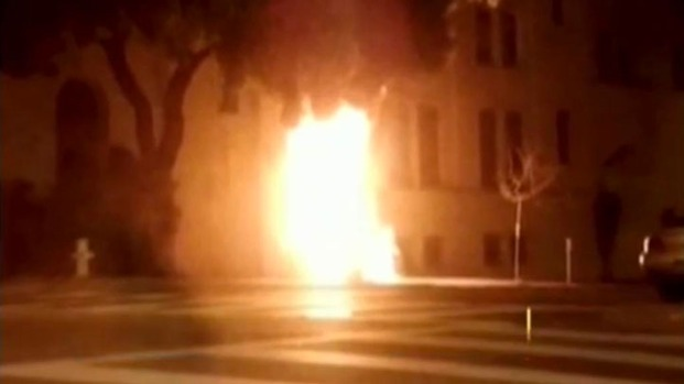 [BAY] Police Investigate Fire at Chinese Consulate