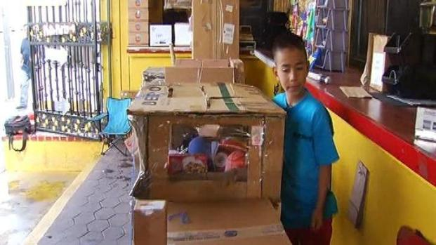 "[LA] Youngster's $2 Cardboard Arcade in Boyle Heights: ""Best Deal of My Life"""