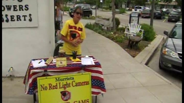 [LA] Murrieta Woman Continues Fight to Ban Red-Light Cameras