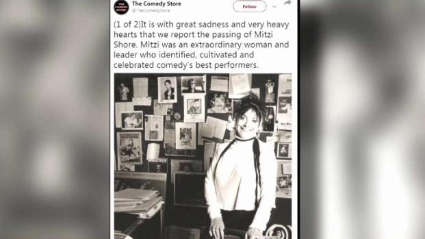[LA] Comedy Store Owner Mitzi Shore Dies at 87
