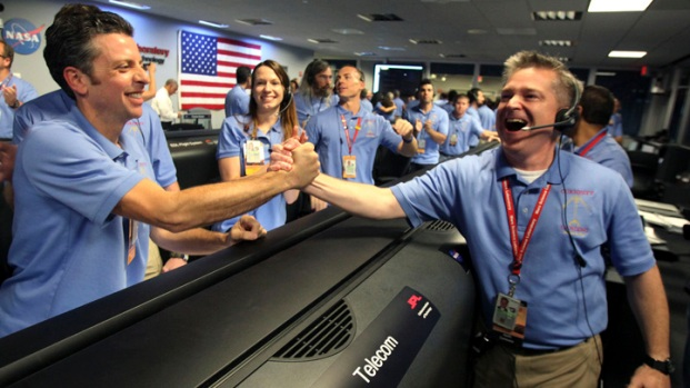 [LA] Celebration Follows Mars Rover Curiosity Journey