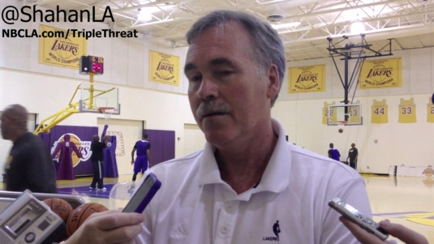 [LA] D'Antoni Talks About Earl Clark's Reduced Role