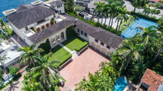 [NATL-MIA]Wanna Live Like a Rap Star? $12.9 Million Miami Mansion Seen in Music Videos on the Market