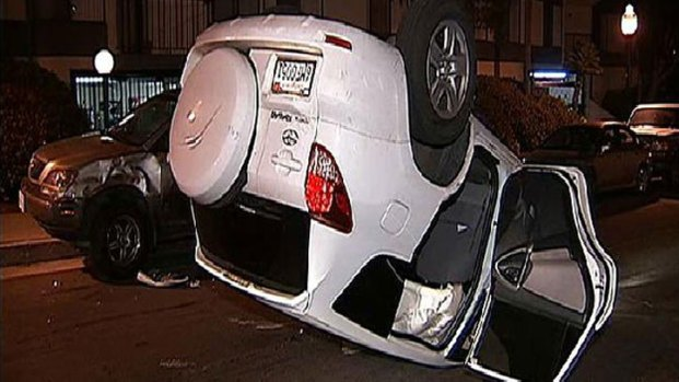 DUI Crash Ends in Rollover