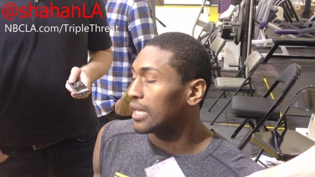 [LA] Metta World Peace Answers To Label of  Dirty Player - Lakers