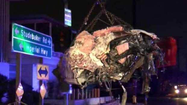 [LA] Driver Suffers Minor Injuries in BMW Crash