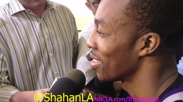 [LA] Dwight Howard Not Retaliating Against David Lee