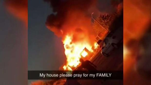 [LA] Family Loses Home After 7.1 Ridgecrest Quake