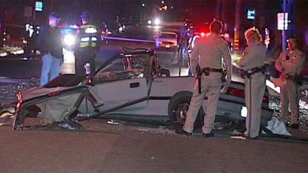 Fatal Police Pursuit Crash Oceanside, SR-78
