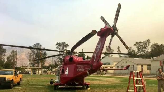 [LA] Fire Helicopter Back in Service After Repairs