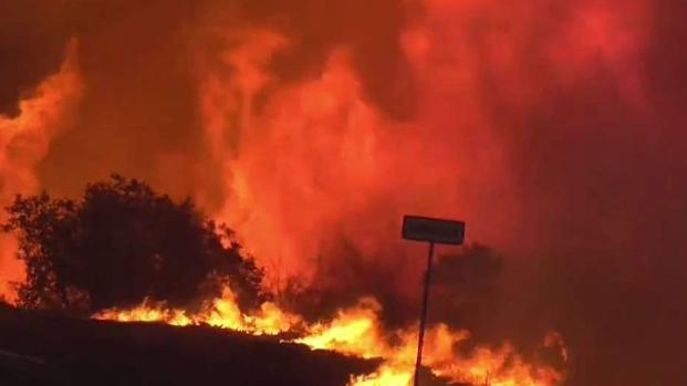 Fire Torches Thousands of Acres in Carpinteria
