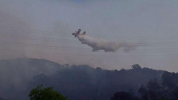 [LA] Firefighters Keeping Close Eye on Stubborn Barham Fire