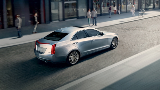 [SPONSORED] Sleek Photos: The Cadillac 2013 ATS