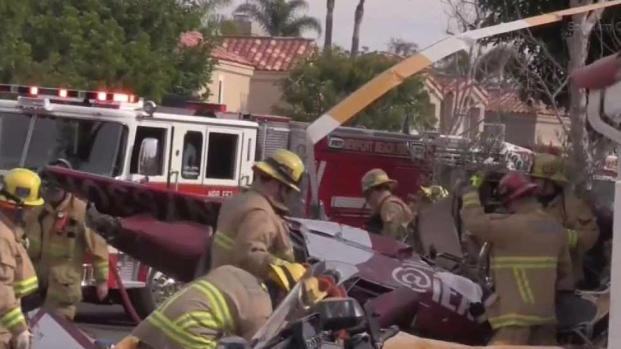 Victims Identified in Newport Beach Helicopter Crash - NBC