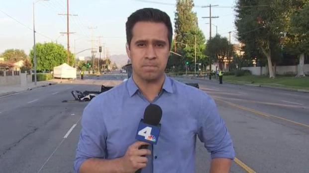 [LA-STRINGER] Investigation Underway After Deadly Crash in Winnetka