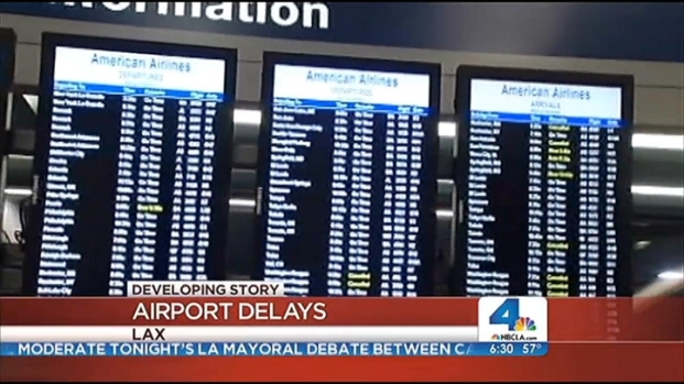 [LA] Flight Delays Hit LAX Passengers