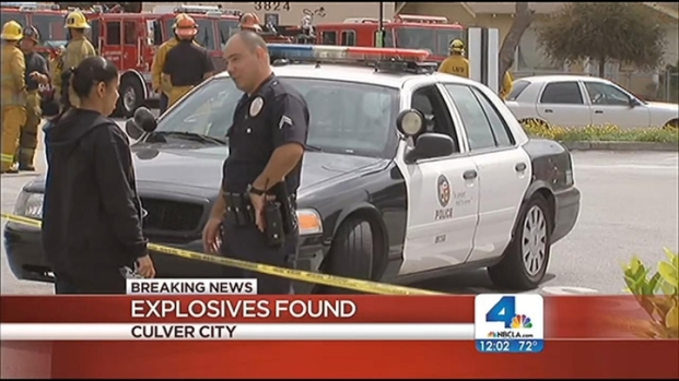 [LA] Officers Find Explosives in Culver City Apartment