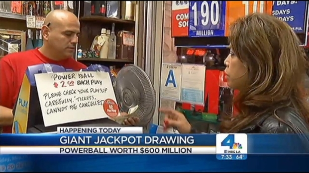 [LA] Powerball Frenzy Strikes SoCal