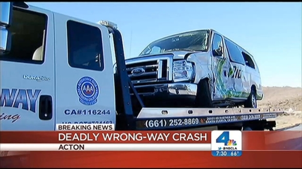 [LA] Wrongway Driver Causes Fatal Fwy Crash