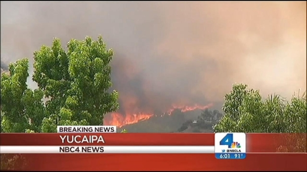 [LA] Mill Fire Evacuates Yucaipa Residents
