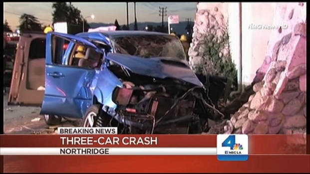 "[LA] Road Rage Suspected in ""Horrific"" Northridge Crash"