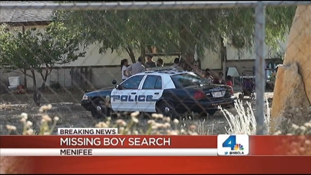 [LA] Authorities Search for Missing Autistic Boy in Menifee