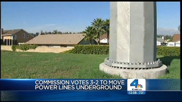 [LA] Residents Cheer Decision on Chino Hill Power Lines