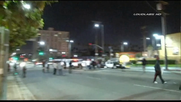 [LA] RAW VIDEO: LA Streets Fill With Protesters