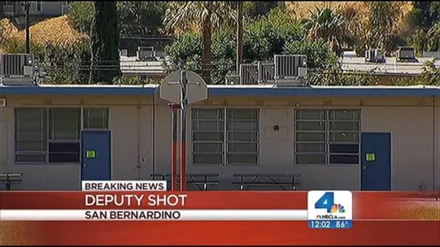 [LA] Car Opens Fire on Deputies; One Shot