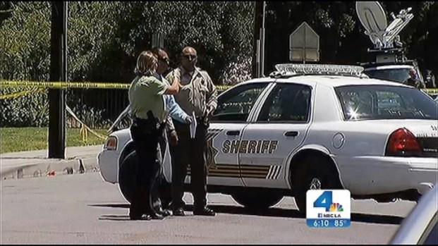 [LA] Sheriff's Deputy Shot Delivering Eviction Notice in San Bernardino