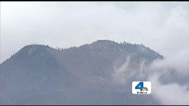 "[LA] ""Miracle"" Rain Weakens Massive Mountain Fire"